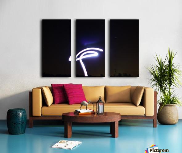 Lasso Split Canvas print
