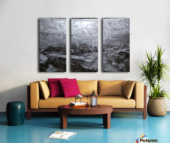 Ice Split Canvas print