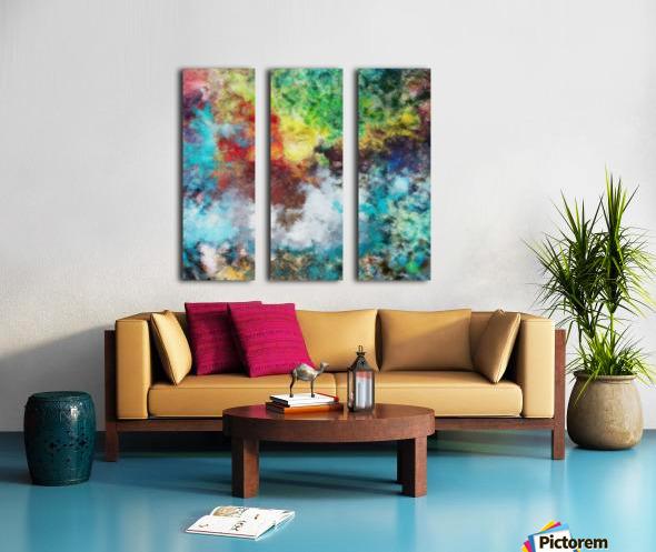 Parturition of Light Split Canvas print