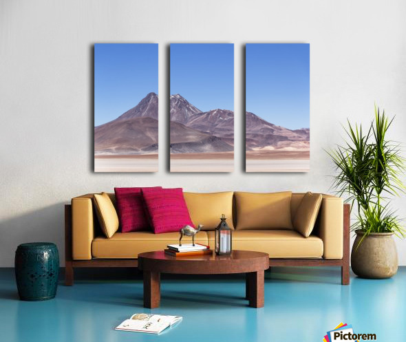 Atacama Volcano Split Canvas print