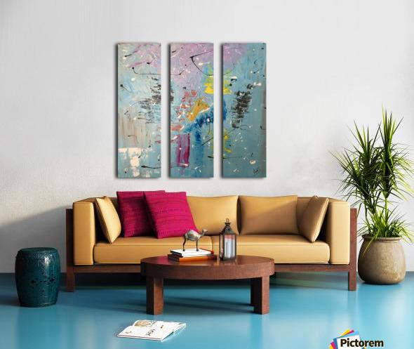WILDERNESS Split Canvas print