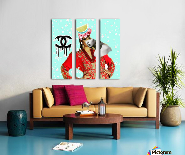 3 Split Canvas print