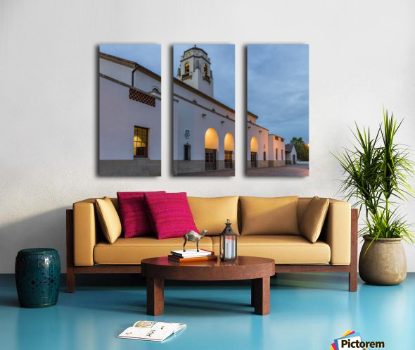 Boise Depot Split Canvas print