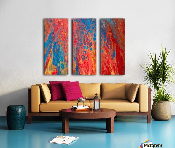 Albuquerque Split Canvas print