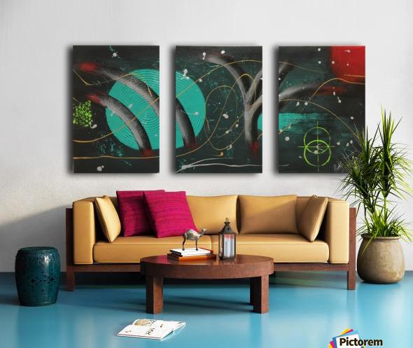 NIGHTMARE Split Canvas print