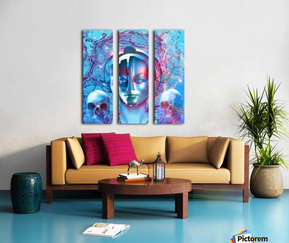 Robot Transcendence Split Canvas print