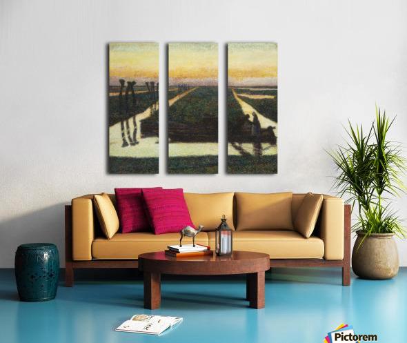 Toorop-broek Split Canvas print