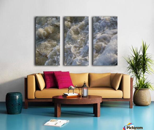 Rapids Split Canvas print