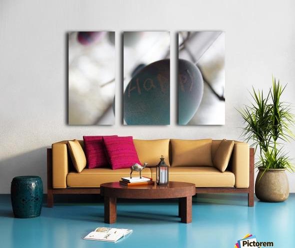 Happy 2 Split Canvas print