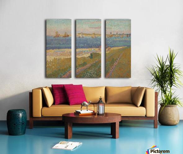 The Schelde near Veere Split Canvas print