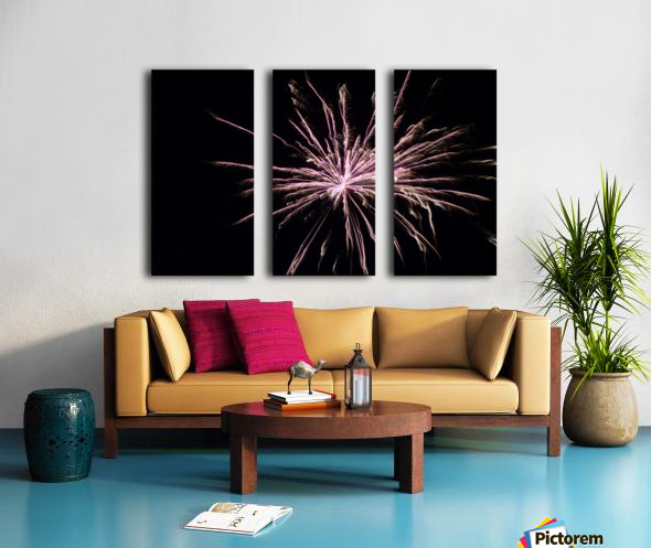 Explosion Split Canvas print