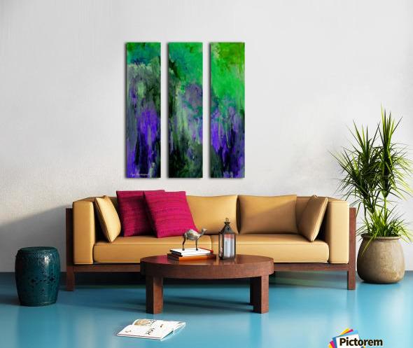 Cliff Side Hint Split Canvas print