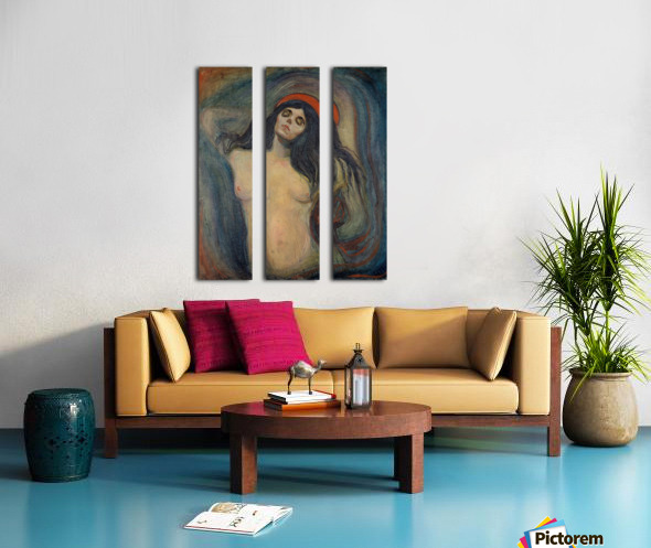 Madonna Split Canvas print