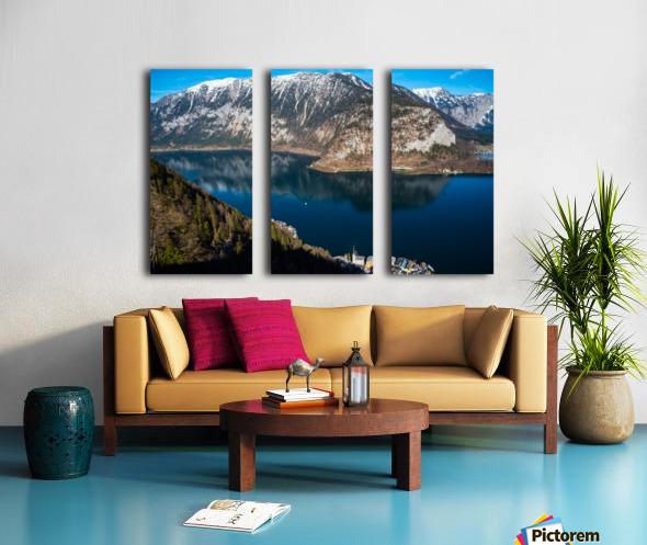 Dream Blue Split Canvas print