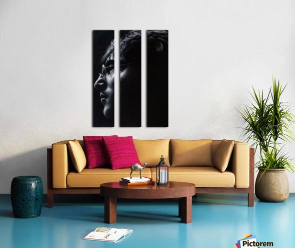 john lennon Split Canvas print