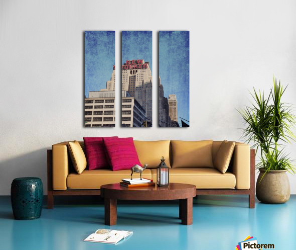 new york med Split Canvas print