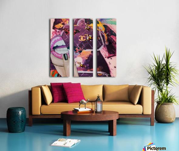 wetgwg Split Canvas print