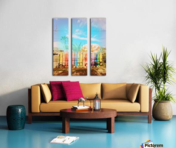 Photo_1501250618124 Split Canvas print
