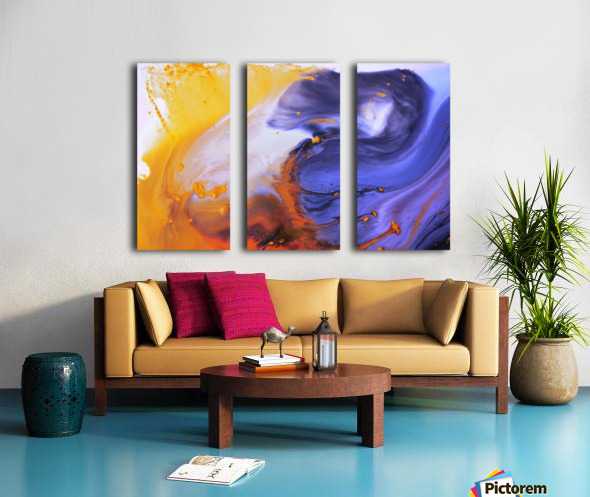 Liquid series 03 Split Canvas print
