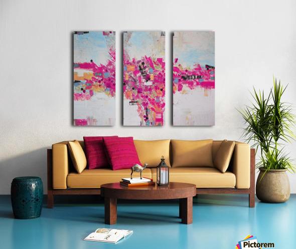 Abstract 02 Split Canvas print