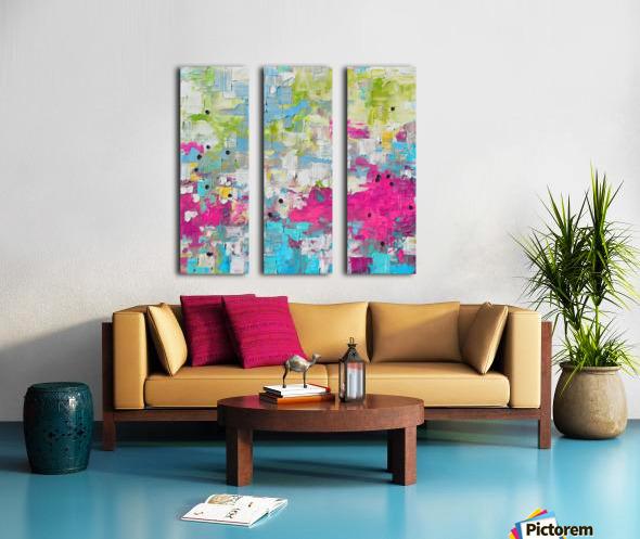 Abstract 21 Split Canvas print