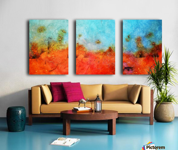 Abstract 45 Split Canvas print