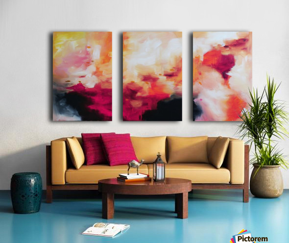 Abstract 33 Split Canvas print