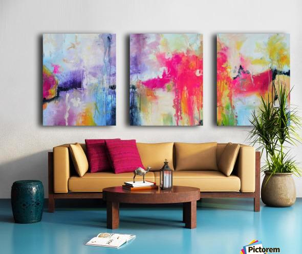 Abstract 32 Split Canvas print