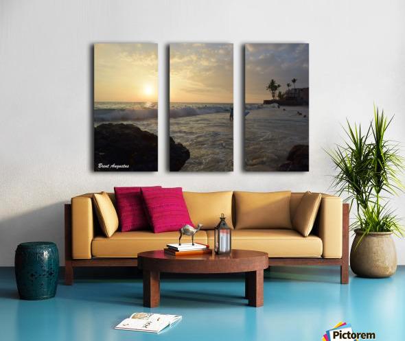Hawaii Sunset Split Canvas print