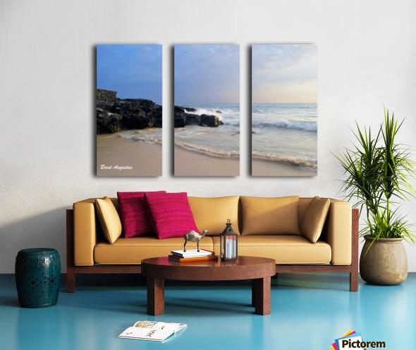 Magic Sands Sunset Split Canvas print