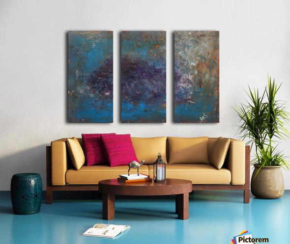 GALAXY Split Canvas print