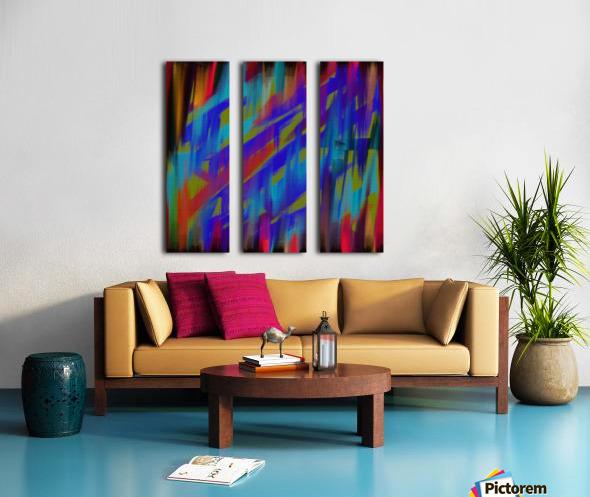 Abstract Me Split Canvas print