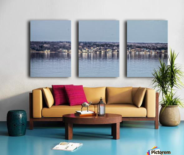 Romulus Panorama Split Canvas print