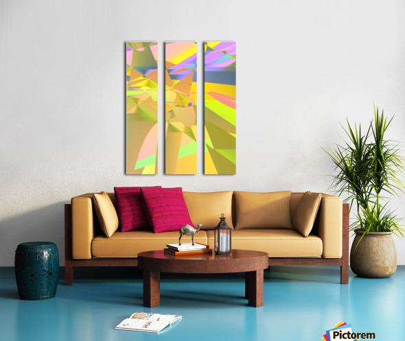 odyssey 049a519 Split Canvas print