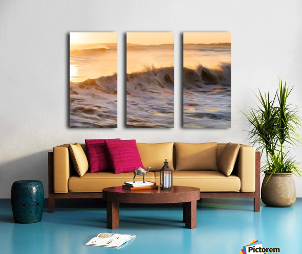 FIREWATER Split Canvas print