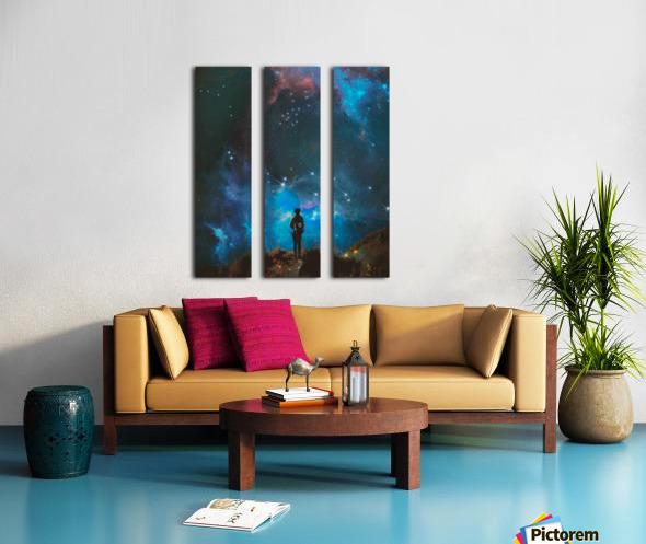 Alternate Universe Split Canvas print