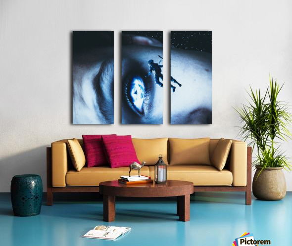 Lost In Your Eyes Split Canvas print