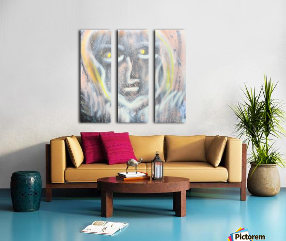 amita soul  Split Canvas print