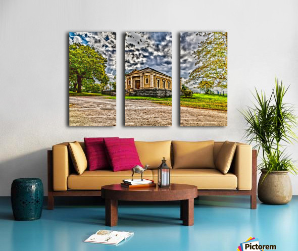 Highland Park 12 Split Canvas print