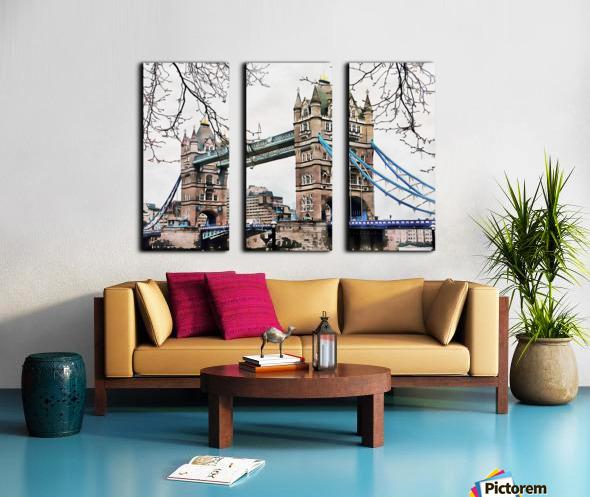 Tower Bridge London Split Canvas print