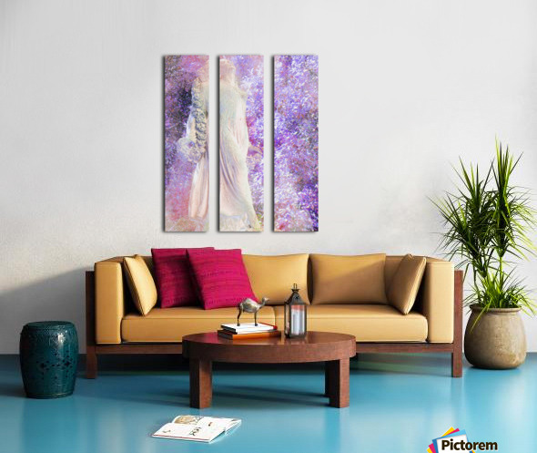 An Angel Awaits Split Canvas print