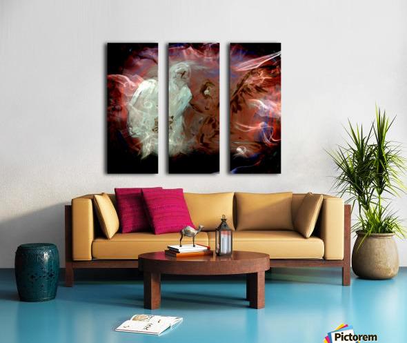 Bens Angel 10 Split Canvas print