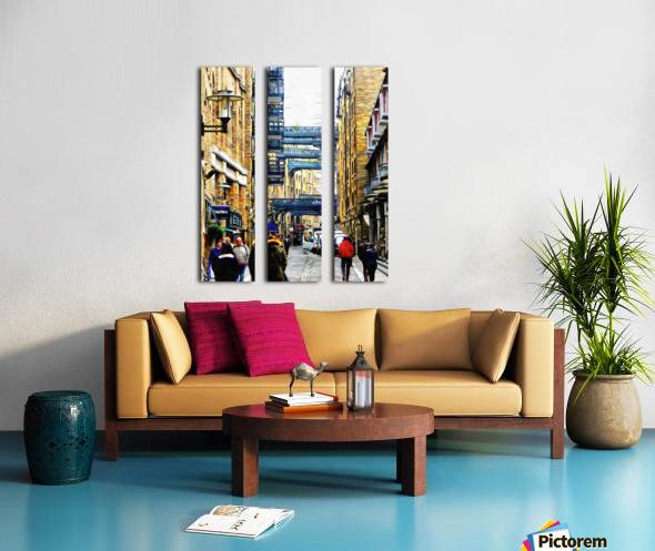 Shad Thames Street View Split Canvas print