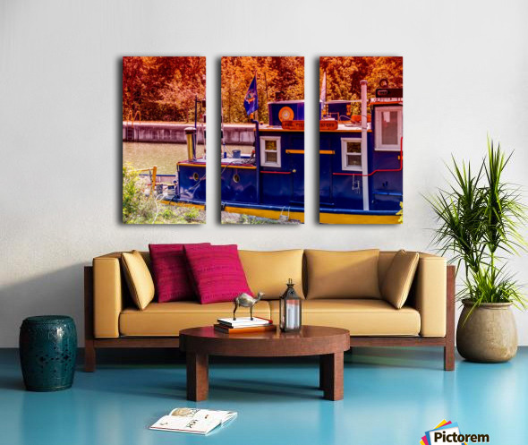 Lock 33 5 Split Canvas print