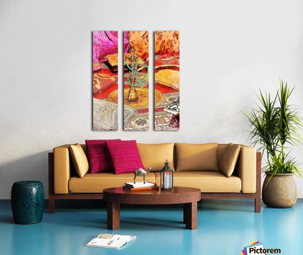 Exotic Oriental Hookah Pipe 2 Split Canvas print