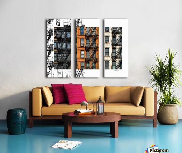 New York - SoHo  Split Canvas print