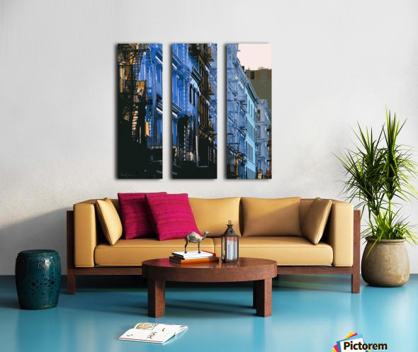 New York - SoHo  Split Canvas print