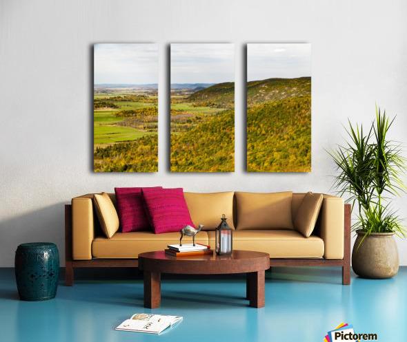 View of Ottawa Valley in Autumn 20 Split Canvas print