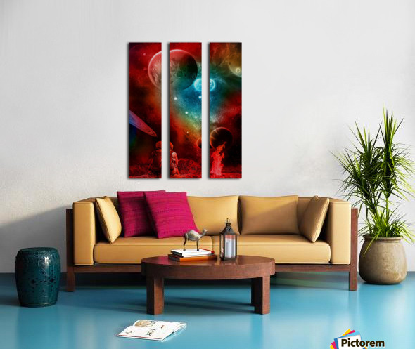 Waiting For You Split Canvas print