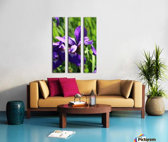 Purple Iris Toile Multi-Panneaux